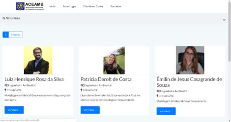 ACEAMB em parceria com empresa de software de Içara lançam plataforma profissional