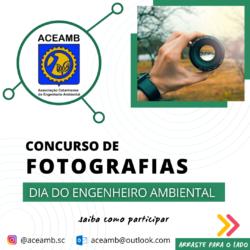 """ACEAMB lança """"Concurso Fotográfico"""" para o dia do Engenheiro Ambiental"""