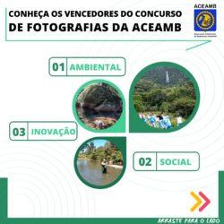 """Ganhadores do """"Concurso Fotográfico"""" para o dia do Engenheiro Ambiental"""
